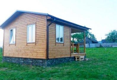 Каркасный домик для дачи