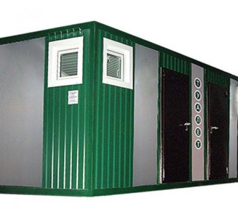 Блок-контейнер туалет-душ
