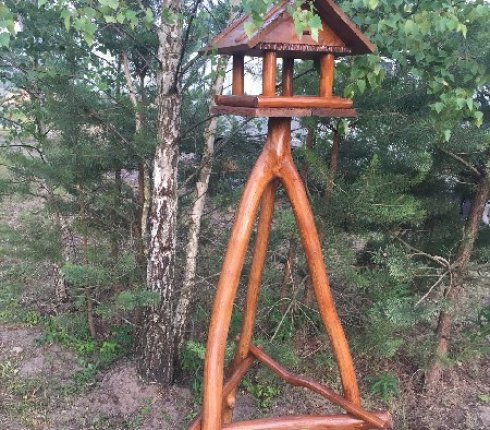Скворечник деревянный